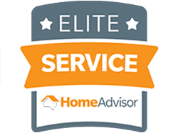 Named Elite Service by HomeAdvisor